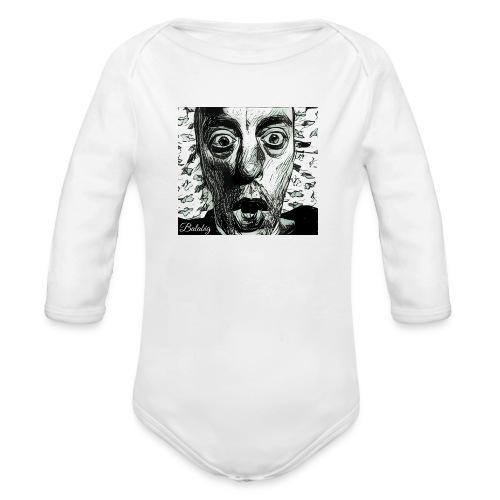 No fear - Body ecologico per neonato a manica lunga