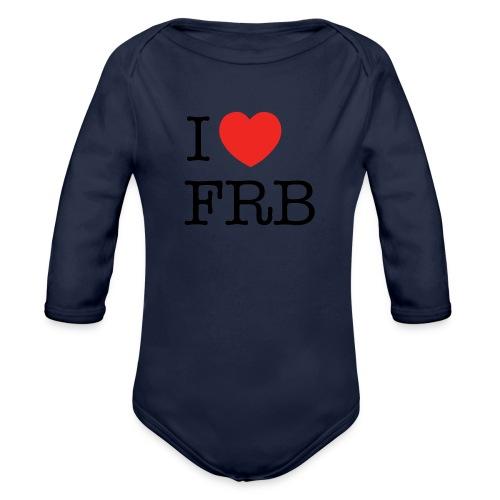 I Love FRB - Streetwear - Langærmet babybody, økologisk bomuld