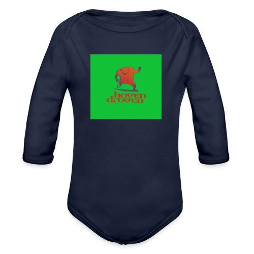 Slentbjenn Knapp - Organic Longsleeve Baby Bodysuit