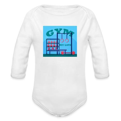 GYM - Vauvan pitkähihainen luomu-body