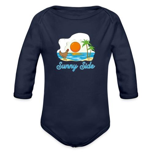 Sunny side - Body ecologico per neonato a manica lunga