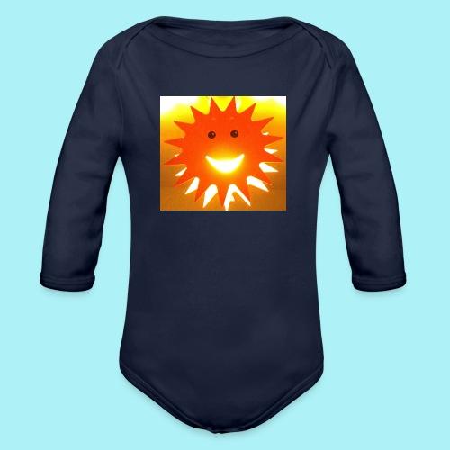 Soleil Souriant - Body Bébé bio manches longues