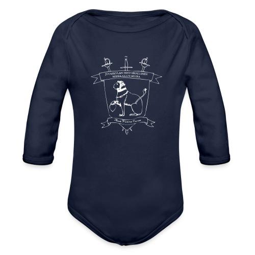 JHMS muki - Vauvan pitkähihainen luomu-body