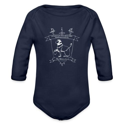 Naisten T-paita, valkoinen logo - Vauvan pitkähihainen luomu-body