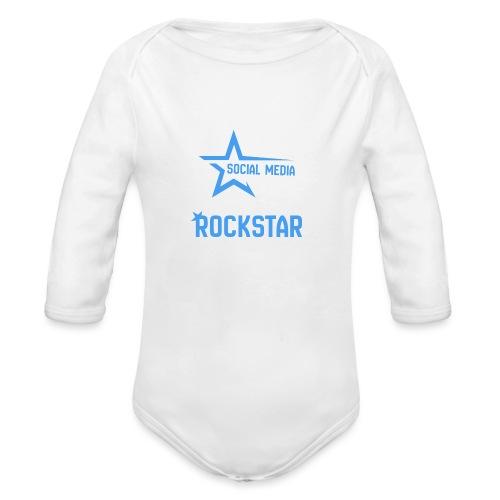 Social Media Rockst*r - Baby Bio-Langarm-Body