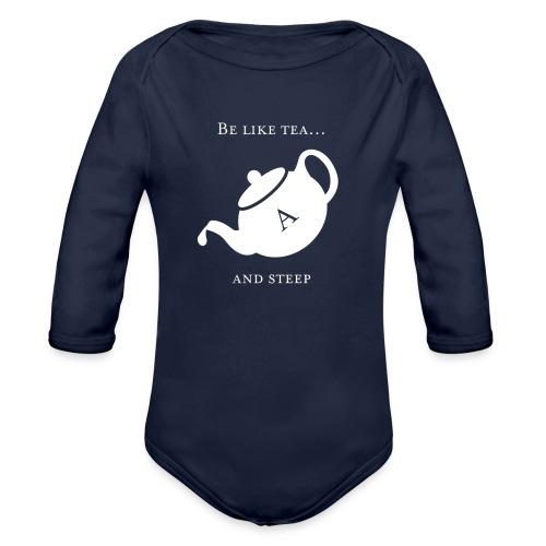 hmmn - Organic Longsleeve Baby Bodysuit