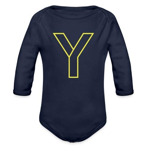 ChangeMy.Company Y Yellow - Baby Bio-Langarm-Body