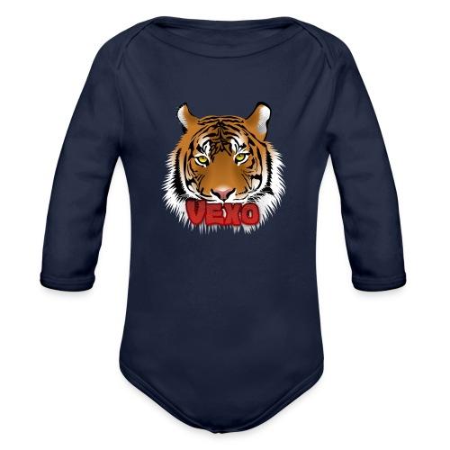 Vexo Logo - Organic Longsleeve Baby Bodysuit