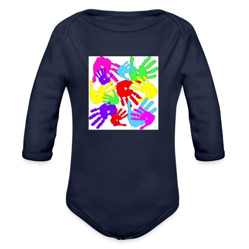 pastrocchio2 - Body ecologico per neonato a manica lunga