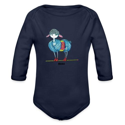 J'aime le tricot - Body Bébé bio manches longues