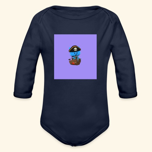 HCP custo 1 - Organic Longsleeve Baby Bodysuit