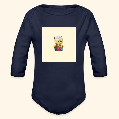 HCP custo 6 - Organic Longsleeve Baby Bodysuit