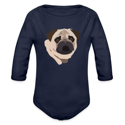 Pug Life - Organic Longsleeve Baby Bodysuit