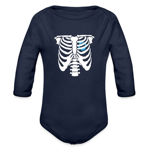 JR Heart - Organic Longsleeve Baby Bodysuit