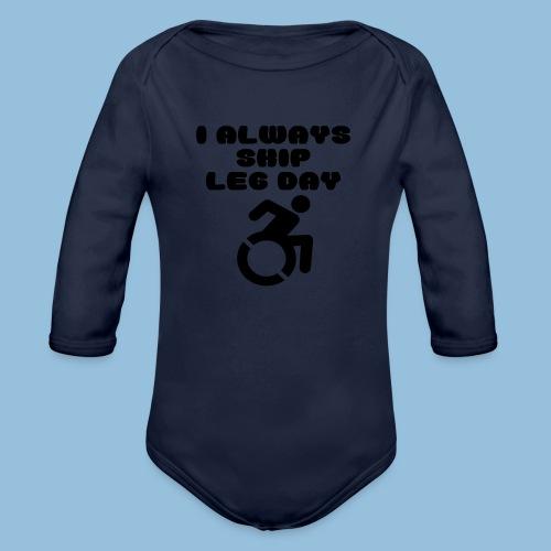 legday2 - Baby bio-rompertje met lange mouwen