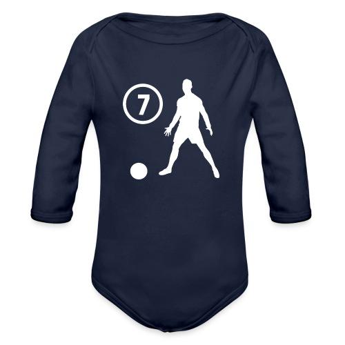 Goal soccer 7 - Baby bio-rompertje met lange mouwen