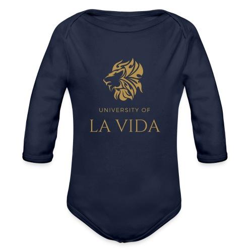 University of LA VIDA - Ekologisk långärmad babybody