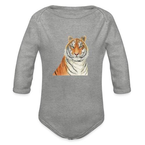 Tigre,Tiger,Wildlife,Natura,Felino - Body ecologico per neonato a manica lunga