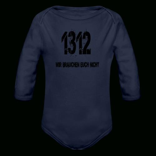 1312 BOSS - Baby Bio-Langarm-Body