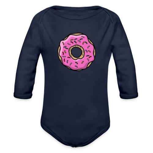 donut - Baby Bio-Langarm-Body