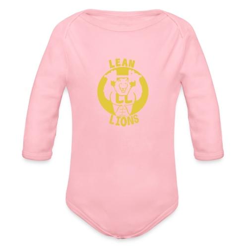 Lean Lions Merch - Organic Longsleeve Baby Bodysuit