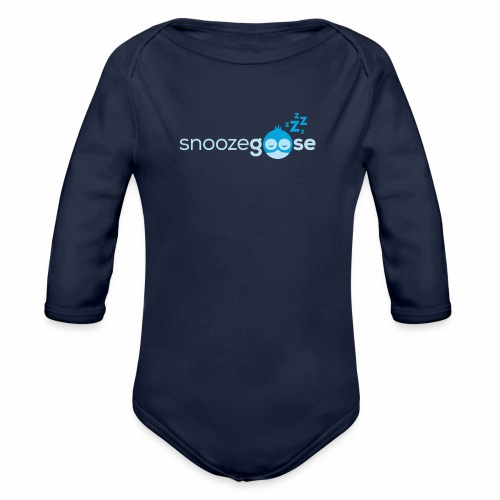 snoozegoose #01 - Baby Bio-Langarm-Body