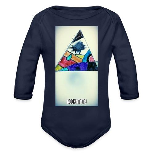 triangle logo spirit - Body Bébé bio manches longues