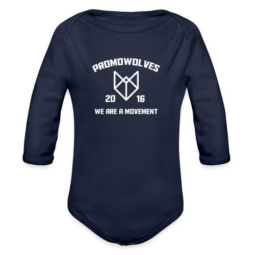 Promowolves finest png - Baby bio-rompertje met lange mouwen