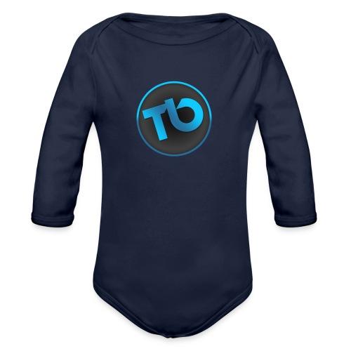 TB T-shirt - Baby bio-rompertje met lange mouwen
