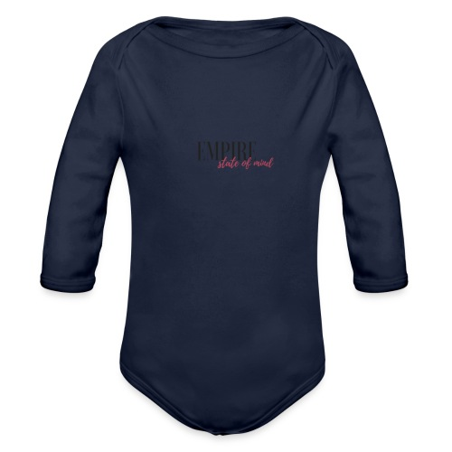 Empire State of Mind - Organic Longsleeve Baby Bodysuit