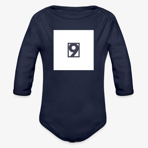 9 Clothing T SHIRT Logo - Organic Longsleeve Baby Bodysuit