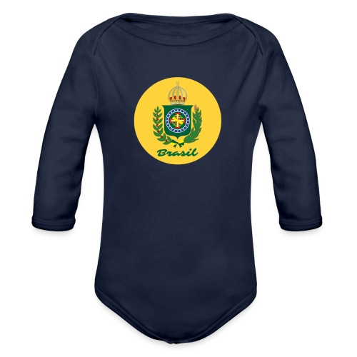 Monarquia Brasil - Økologisk langermet baby-body