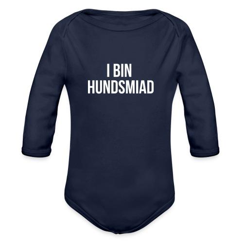 Vorschau: I bin hundsmiad - Baby Bio-Langarm-Body