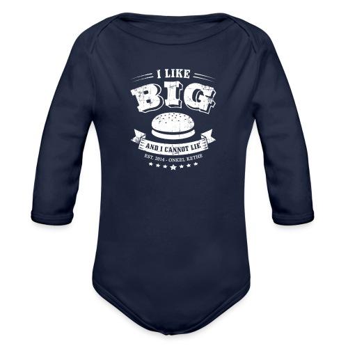 I Like Big Buns Shirt - Baby Bio-Langarm-Body