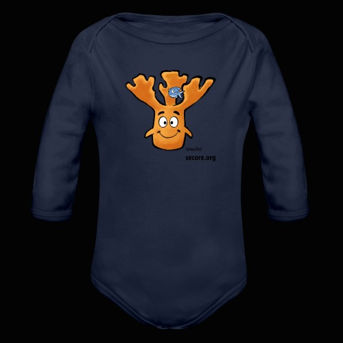 Al Moose - Organic Longsleeve Baby Bodysuit