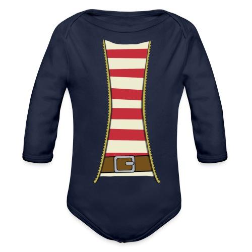 Pirate costume - Organic Longsleeve Baby Bodysuit