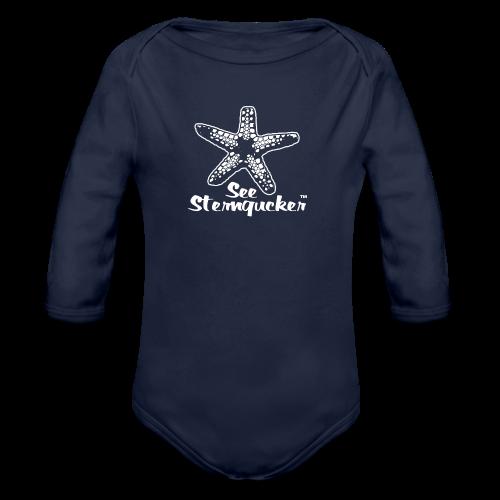 Seesterngucker - Baby Bio-Langarm-Body