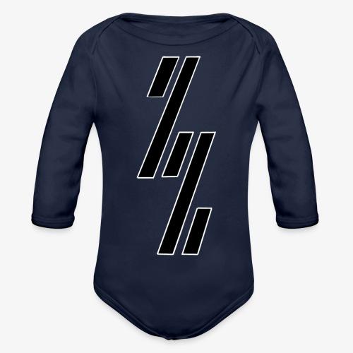 ZZ ZependeZ Vrouwen T-shirts - Baby bio-rompertje met lange mouwen