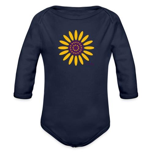 sunflower - Vauvan pitkähihainen luomu-body