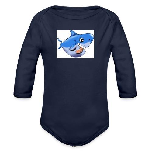 shark - Baby Bio-Langarm-Body