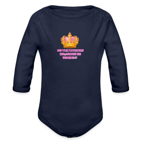 Kolekcja Księżniczki na telefon - Ekologiczne body niemowlęce z długim rękawem