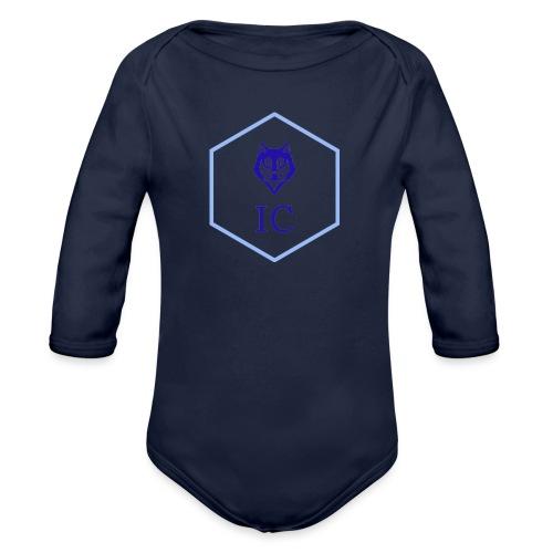 logo small - Body ecologico per neonato a manica lunga