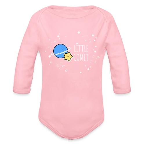 Little Comet - Vauvan pitkähihainen luomu-body