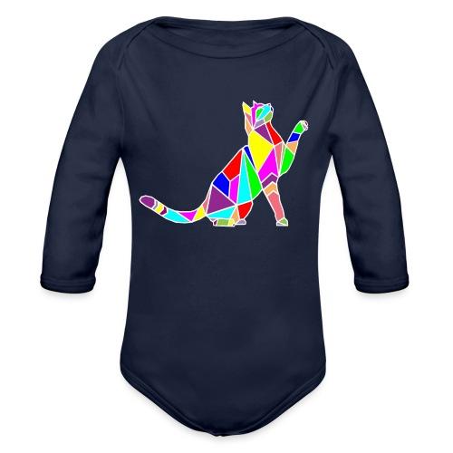 cat colors white pet animal art composicion - Body ecologico per neonato a manica lunga