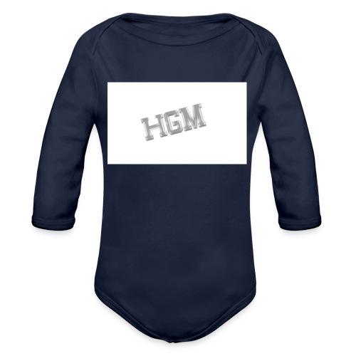 HGM MERCH - Organic Longsleeve Baby Bodysuit