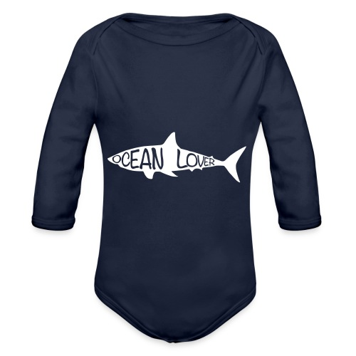 The Shark - Le Requin - Body Bébé bio manches longues