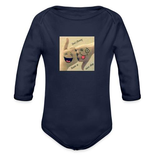 Friends 3 - Organic Longsleeve Baby Bodysuit