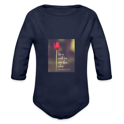 IMG 20180308 WA0027 - Organic Longsleeve Baby Bodysuit