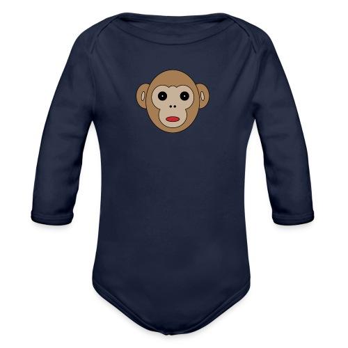 MonkeyMäMä - Baby Bio-Langarm-Body