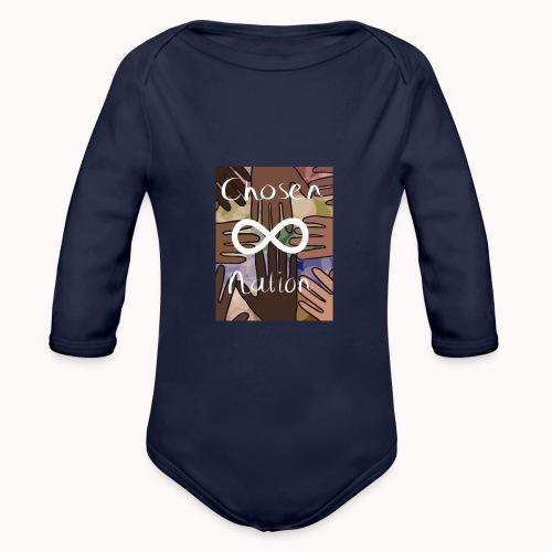 Chosen nation - Baby bio-rompertje met lange mouwen